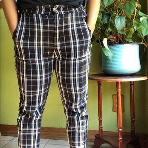 Hollister plaid pants